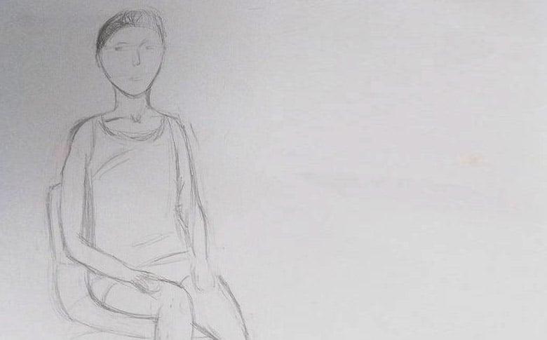 Kariny poziom przed kursem rysunku