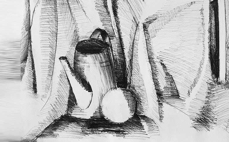 Kuby poziom przed kursem rysunku