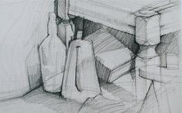 Kompozycja w rysunku i malarstwie, jak ją układać 01